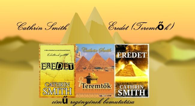 Cathrin Smith Eredet című regényének bemutatása