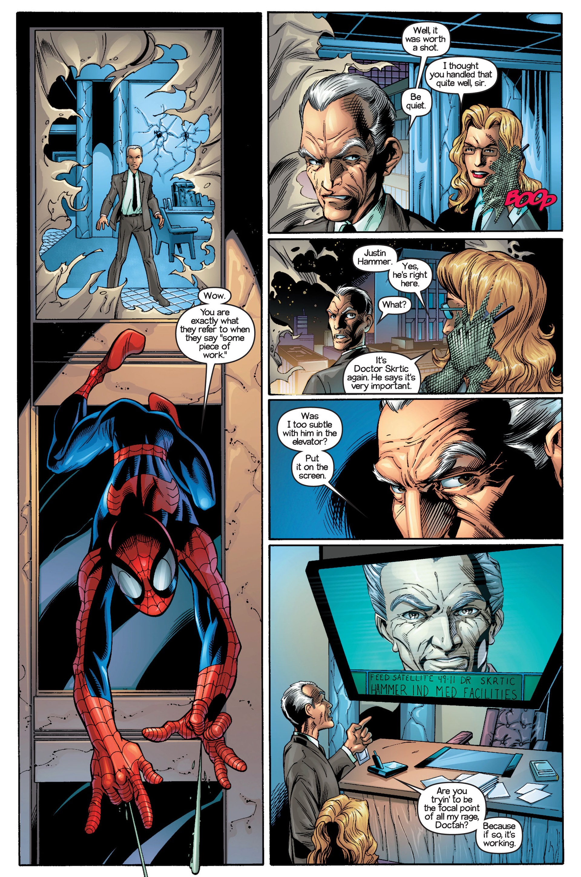 Read online Ultimate Spider-Man (2000) comic -  Issue #19 - 17
