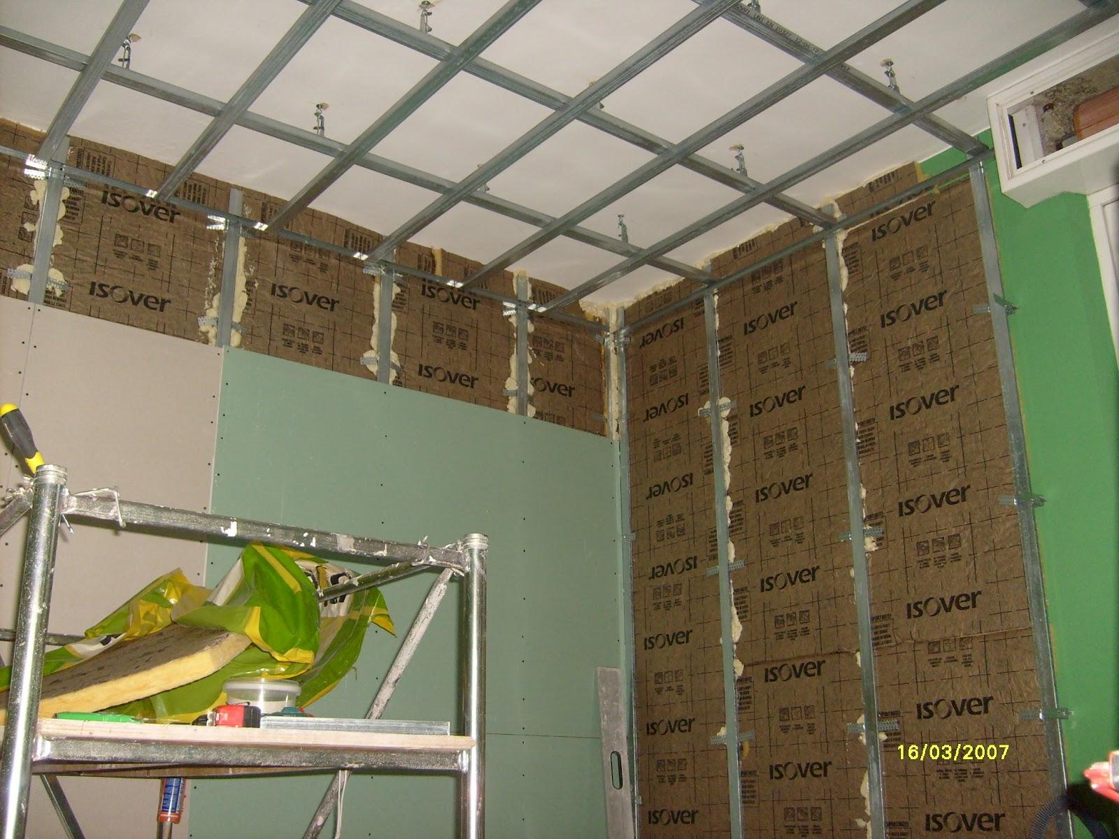 Decorazioni d autore isolamento termico di soffitto e parete