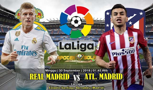Prediksi Real Madrid vs Atletico Madrid 30 September 2018
