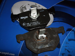 BMW E46 330d Pagid Rear Brake Pads