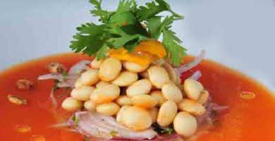 receta cebiche chocho tarwi