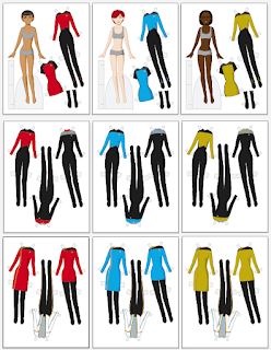 Star Trek Paper Dolls