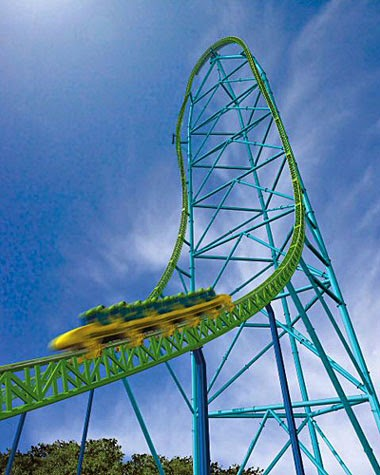 10 Amazing & Scariest Rollercoasters in the World | Kingda Ka, Six Flags Great Adventure, Jackson, New Jersey, USA