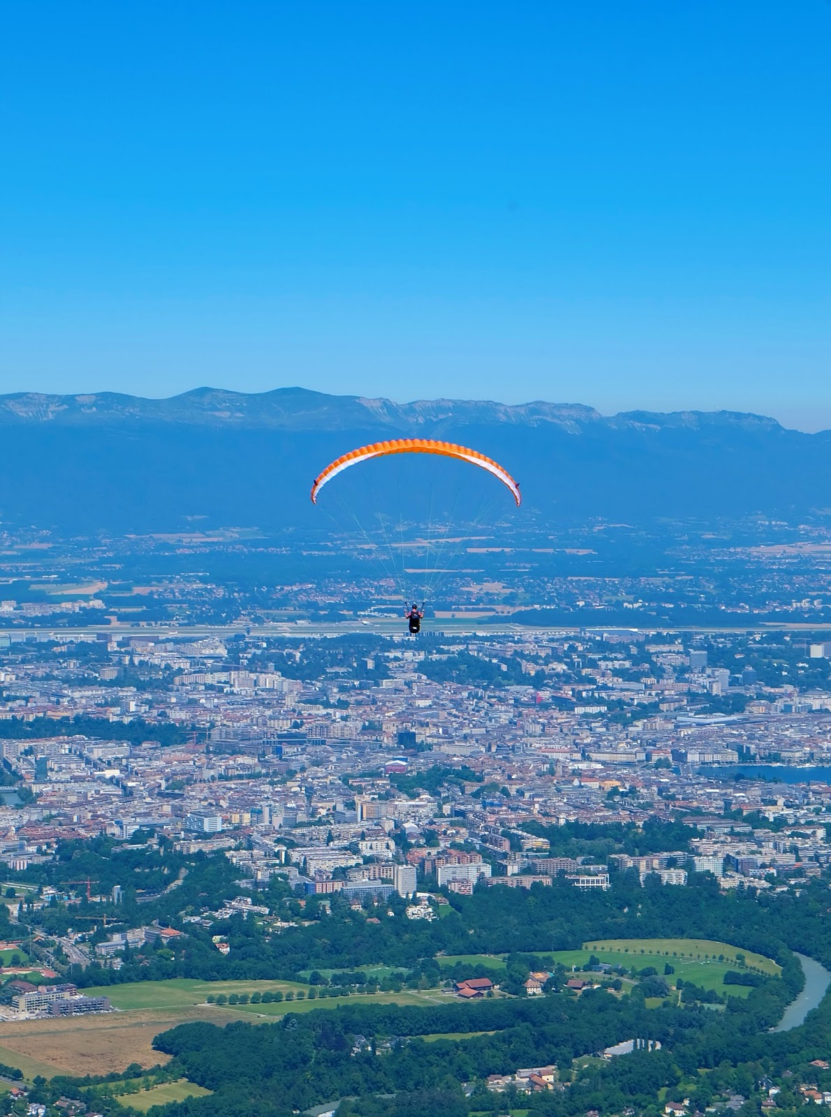 Paragliding at Mount Saleve