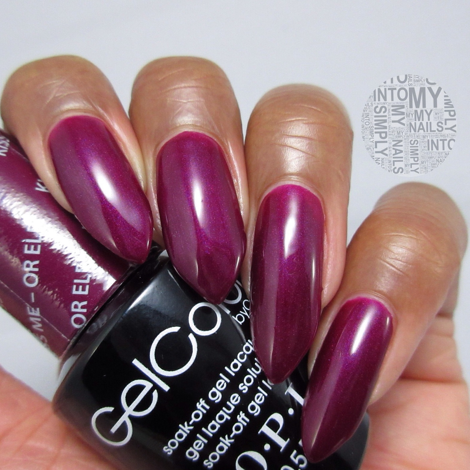 Mini Manicures Opi Gelcolor Kiss Me Or Elf Simply