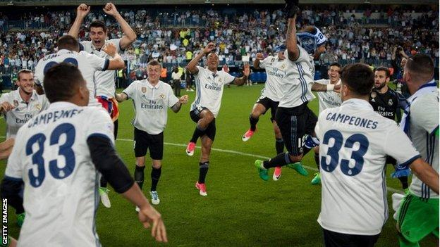 Spain: Real Madrid Crowned La Liga Champions; Beating Barcelona With Just 3 Point