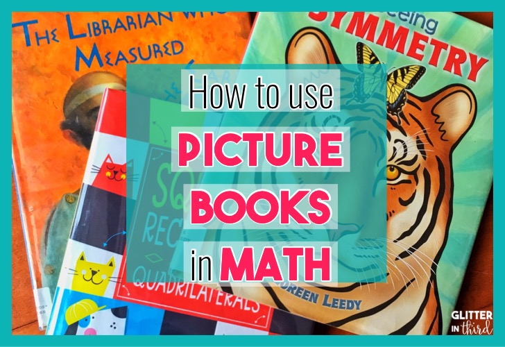 how to use math picture books
