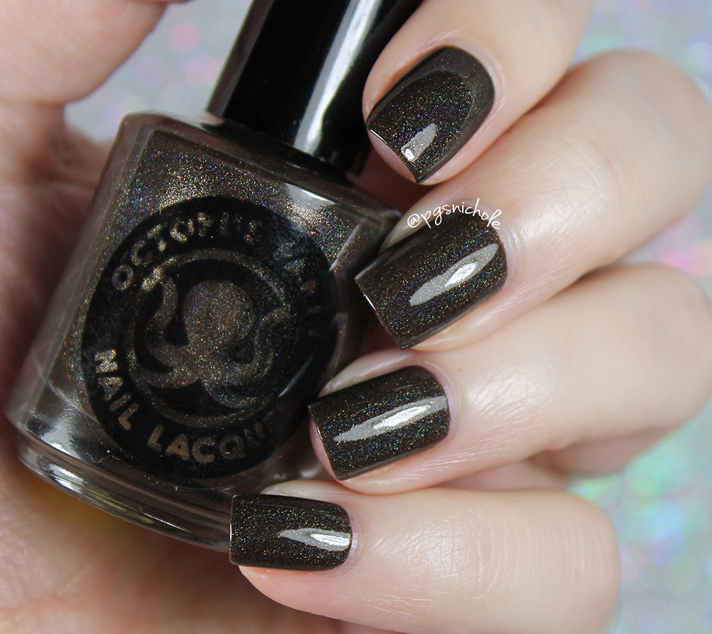 Bedlam Beauty: Octopus Party Nail Lacquer for Ella Ann   Winter 2016