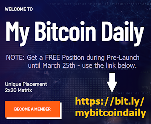 HUGE ANNOUNCEMENT<br>Get a FREE Position during Pre-Launch. This is a BIG success Worldwide