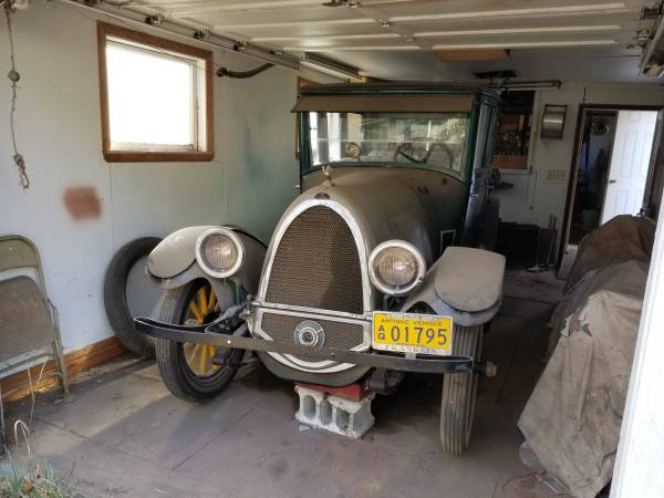 1923 Franklin 10B Sedan