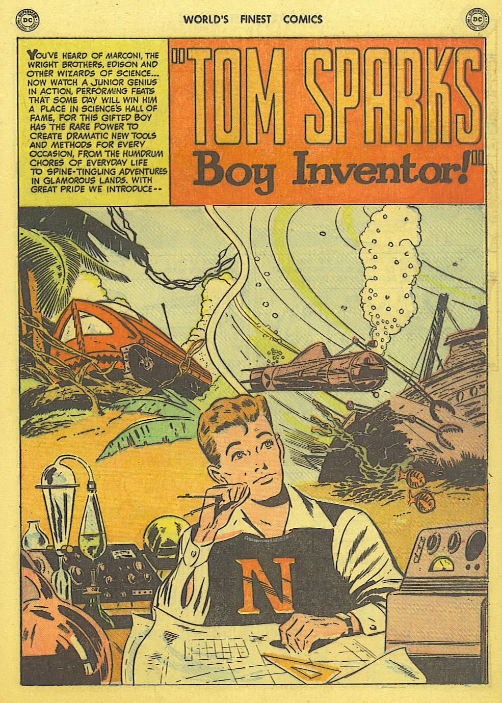 Read online World's Finest Comics comic -  Issue #49 - 30