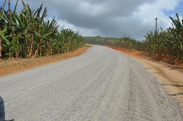 Pavimentação de estrada em distrito de São Vicente Férrer em ritmo acelerado