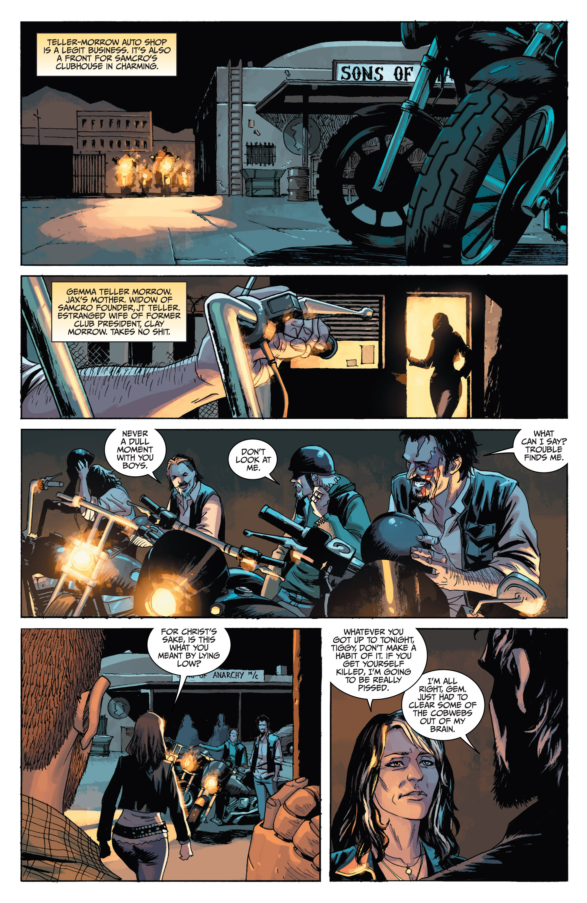 Read online Sons of Anarchy comic -  Issue #1 - 19
