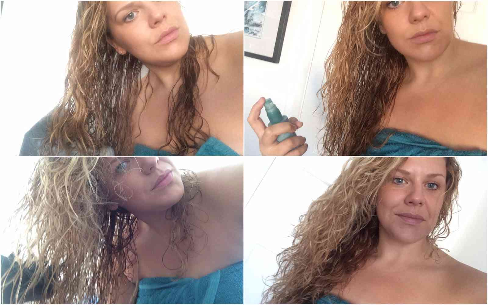 four tips for styling curly hair