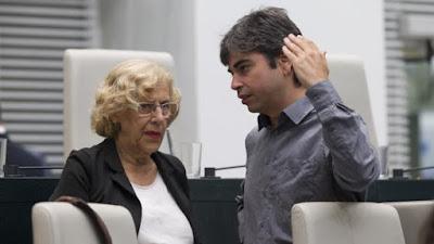 Ahora madrid, Podemos, Carmena, Corrupción, gratis