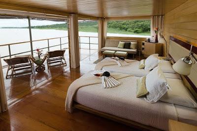 Amazon Cruises Luxury, Habitación Crucero de Lujo