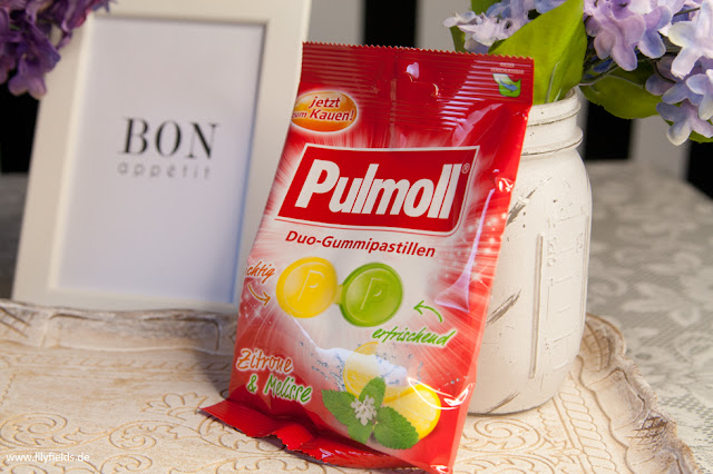 Pulmoll - Duo Gummipastillen Zitrone & Minze /