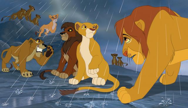 Hình ảnh phim Vua Sư Tử Phần 2: Sự Kiêu Hãnh Của Simba