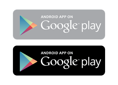 Android app on Google play Logo Free Vector
