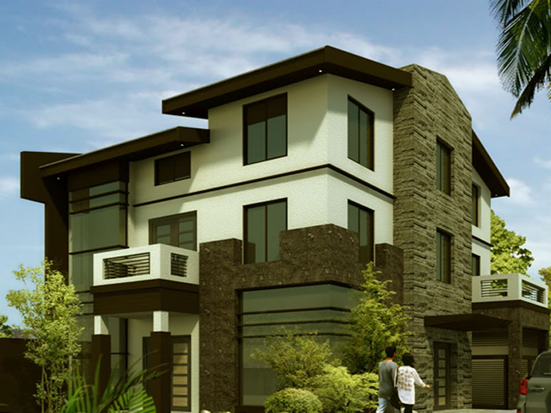 Architecture house designs wallpapers computer wallpaper for Wallpaper new home