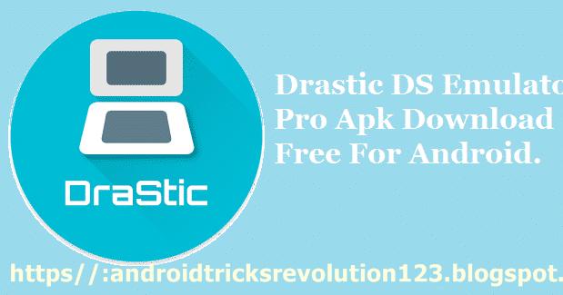 android tricks revolution: DraStic nintendo DS Emulator