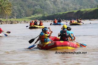 Biaya Rafting di Yogyakarta