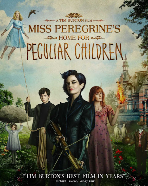 Poster Of Miss Peregrines Home for Peculiar Children 2016 Hindi 720p BRRip Dual Audio