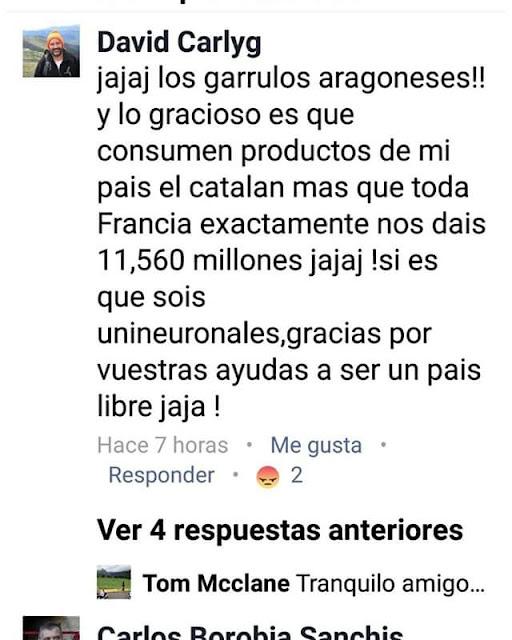 https://www.facebook.com/profile.php?id=100010185258242    Garrulos aragoneses, productos catalanes, Cataluña, Catalunya, gracias por vuestras ayudas a ser un país libre