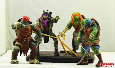 Michael Bay TMNT toy designs 2014