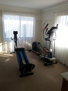 our new home gym - the answer to my lack of exericise motivation?