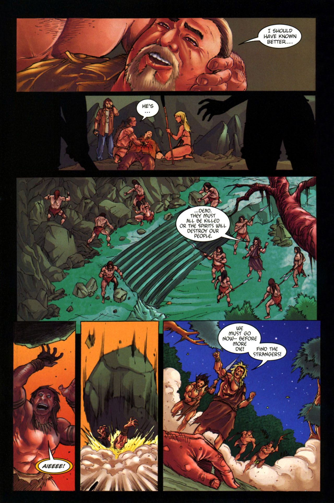 Read online Jungle Girl comic -  Issue #4 - 21