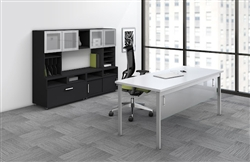 Metal Accented Office Furniture