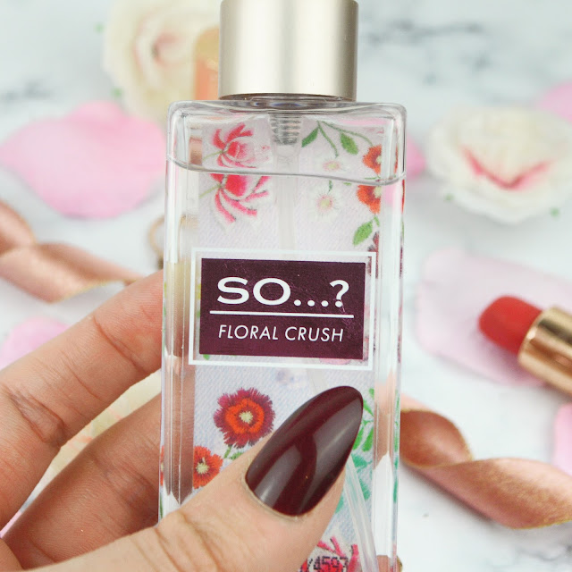 So...? Fragrance New #SoMistHave Body Mist Review Lovelaughslipstick Blog Sweet Pea Candyfloss Toffees & Cream Floral Crush