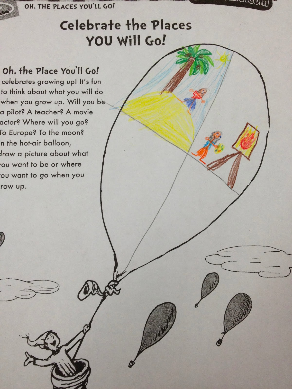 Ms Sepp S Counselor Corner Oh The Places You Ll Go In 1st Grade