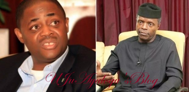 Femi Fani Kayode Blasts Acting President Of Nigeria In Open Letter