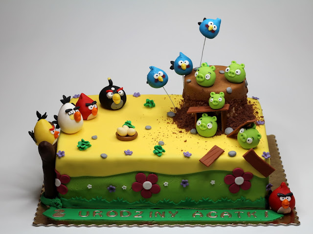 Angry Birds Cake, London