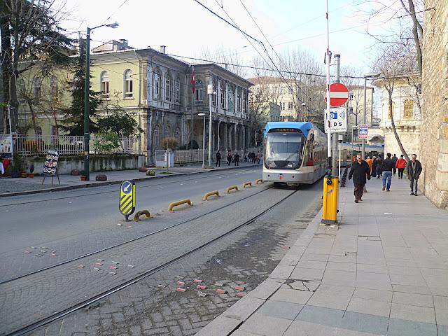Трамвай в Стамбуле (Tram in Istanbul)