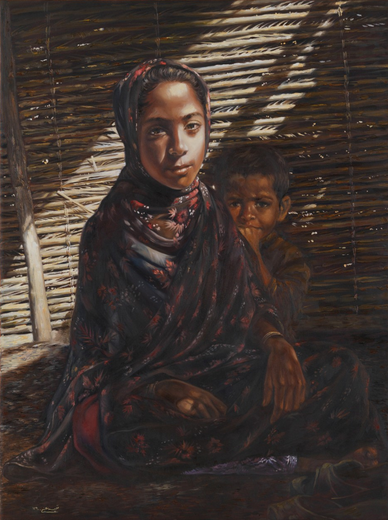 Awesome Oil Paintings by Nafiseh Moeini