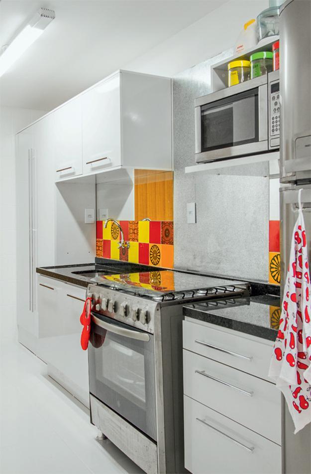 uma cozinha linda e aconchegante