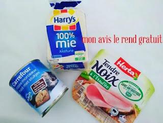 test produits ambassadrice Carrefour