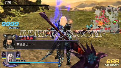 Download Game PPSSPP Warriors Orochi 2 Full Version Free Download