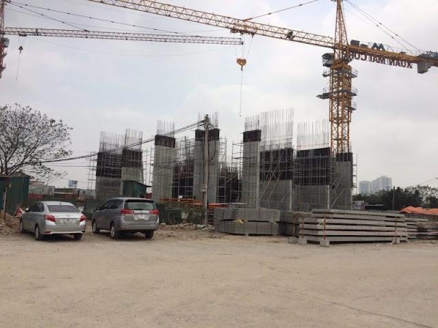 Tiến độ xây dựng chung cư Eco Dream