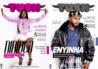 Niniola And Eyinna Nwigwe Cover Tush Magazine's Latest Issue