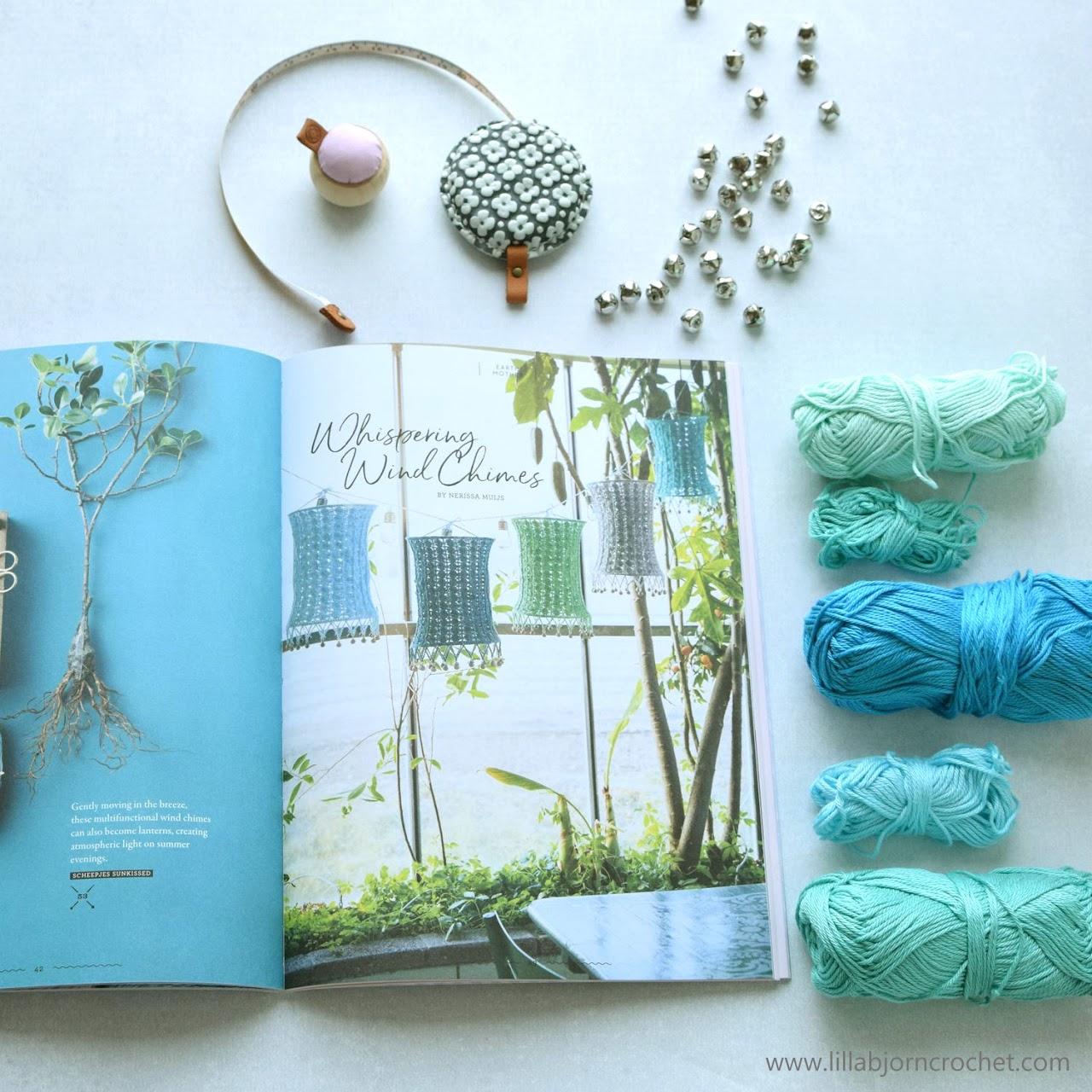 YARN 5 book-a-zine - Scheepjes - review by www.lillabjorncrochet.com