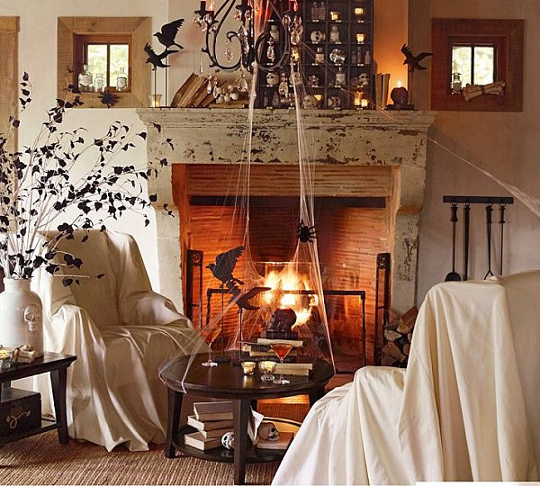 Decorate Living Room Halloween Theme