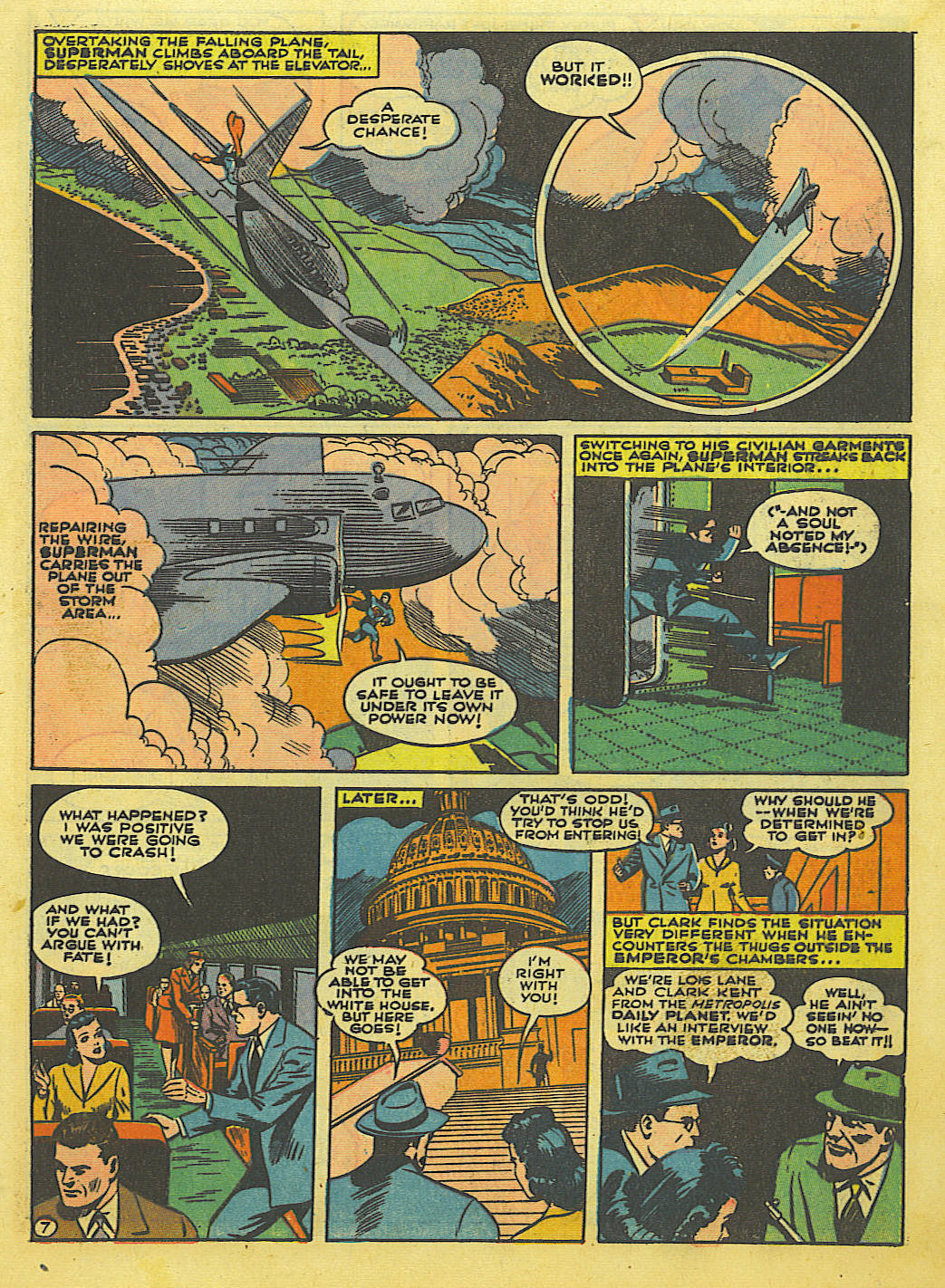 Read online Action Comics (1938) comic -  Issue #52 - 9