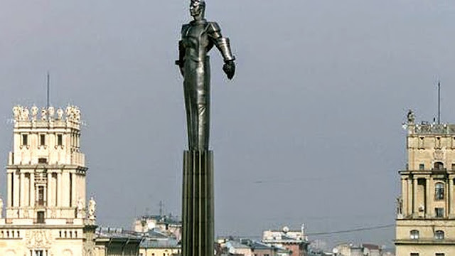 Monumento homenagem a Yuri Gagarin