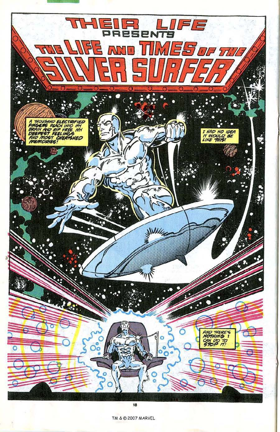 Read online Silver Surfer (1987) comic -  Issue #41 - 20