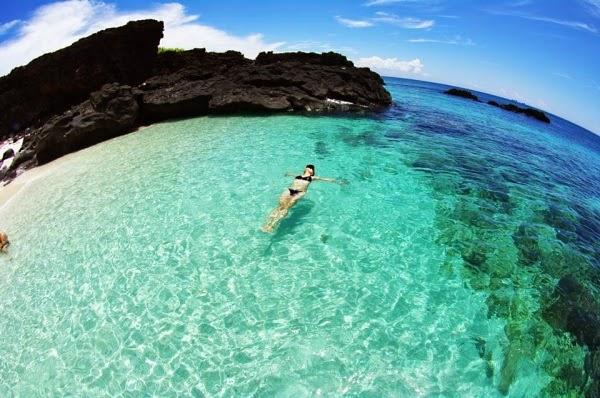 Bãi biển Đảo Bé - Đảo Lý Sơn
